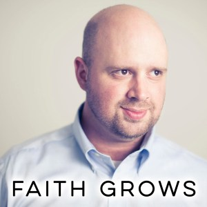 "Image portrait of Jack Brumfield with ""FAITH GROWS"" displayed at the bottom."
