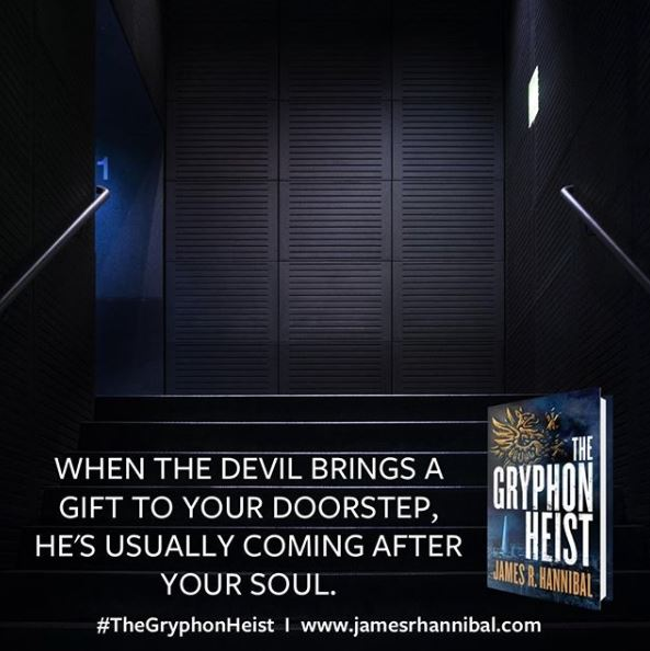 "Book Meme: ""When the devil brings a gift to your doorstep, he's usually coming after your soul."""
