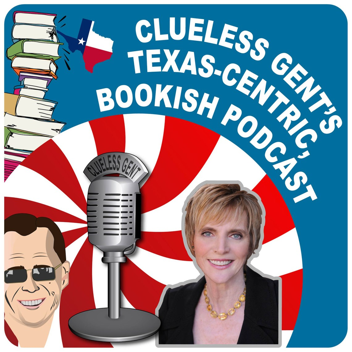 Clueless Gent Podcast Logo - Marti MacGibbon