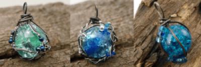 Bilure blau und türkis