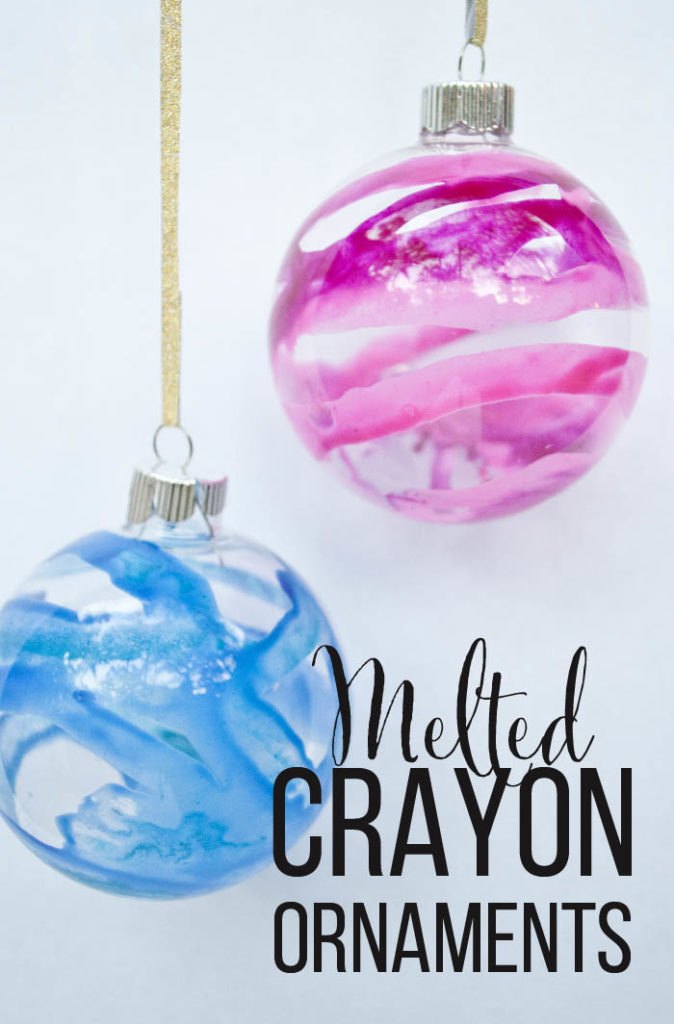 Melted Crayon Christmas Ornaments You Wont Believe How