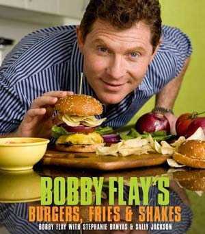 bobby flay burgers cookbook image