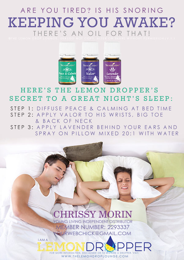 stop snoring with young living essential oils for wholesale prices