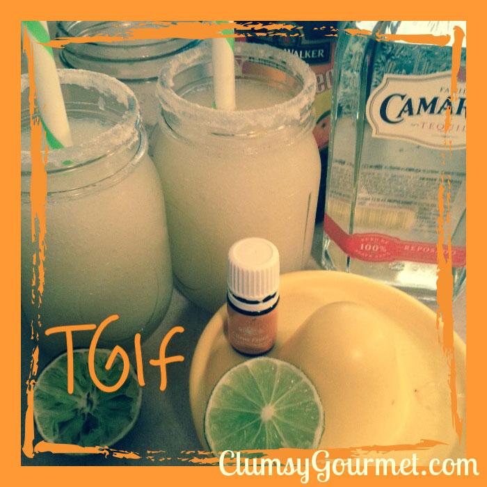 best clean young living essential oils margarita recipe