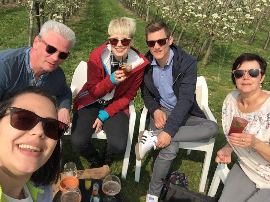 Bloesemtocht Sint-Truiden - fietsen - Blosm gin!