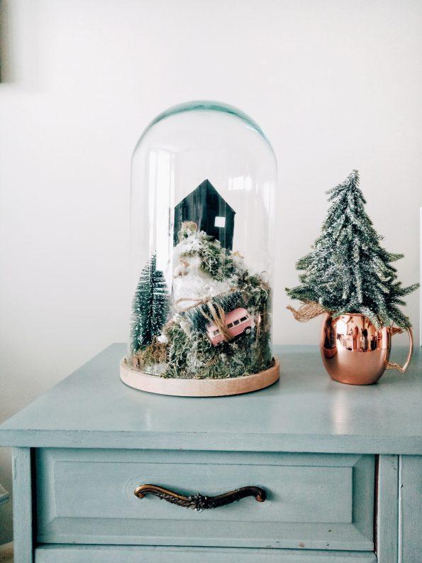 Kerstdecoratie stolp
