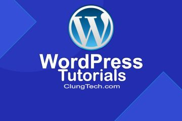 wordpres tutorials
