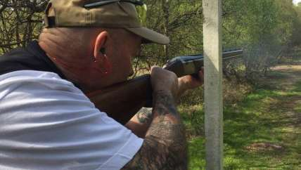 sporting clay shooting