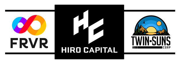 Hiro Capital Invests $6.4m into FRVR and Twin Suns Corp