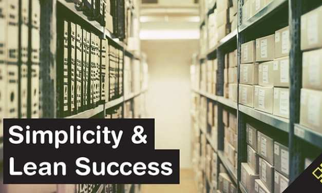 Success with 5S: The Lean Concept of Simplicity Applied