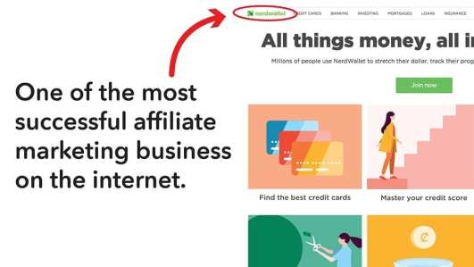 An example of an affiliate marketing busienss that has been successful.