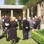 Workers' Memorial Day ceremony at Provand's Lordship Garden