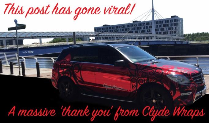 Clyde Wraps Vinyl Graphics Rust Chrome
