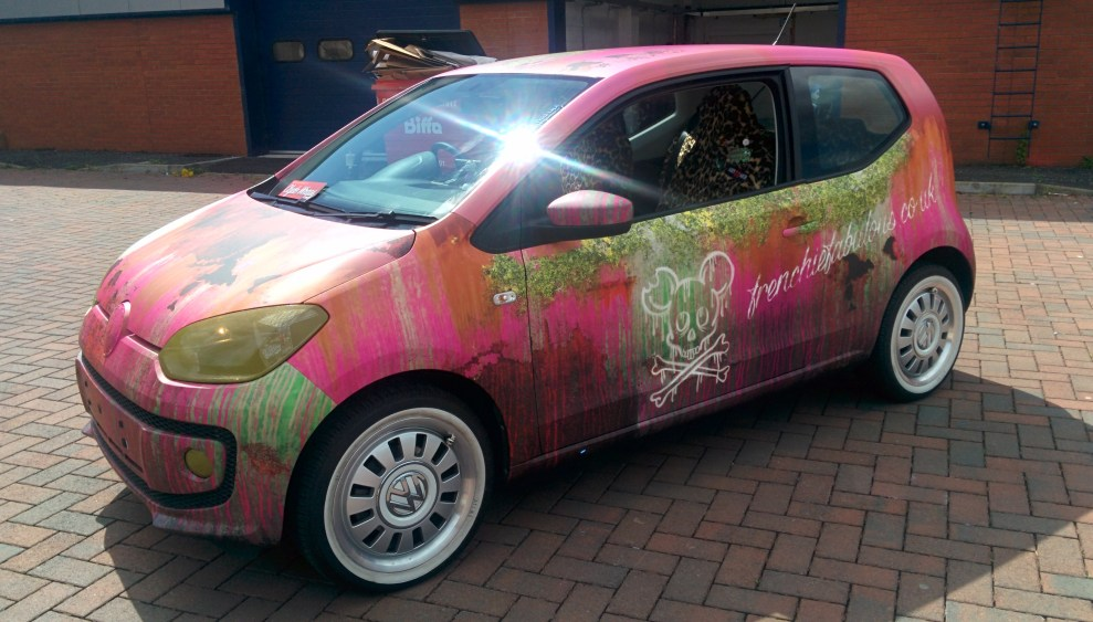 vw up rust wrap