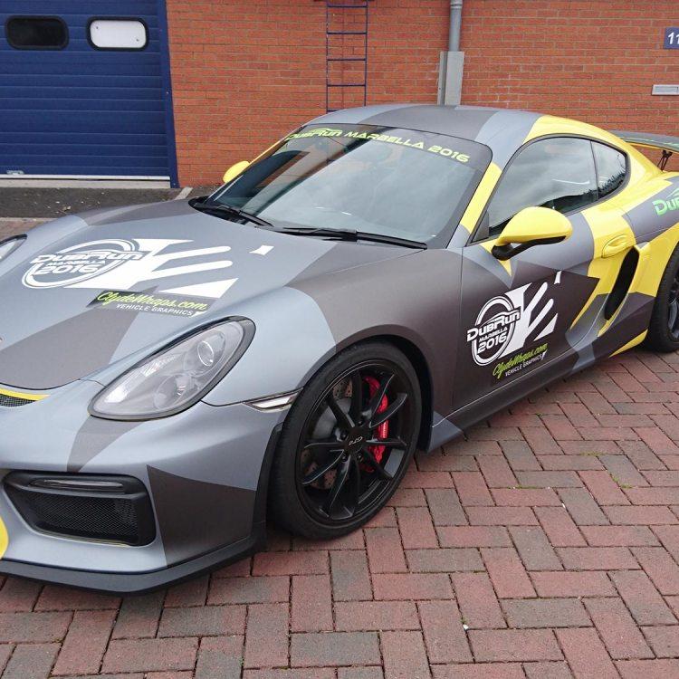 Porsche Cayman GT4 'Clubsport' Wrap