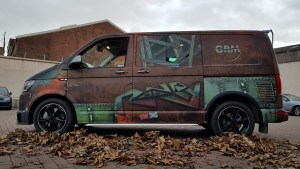 VAN-Dalised VW T6 Transporter custom graphics