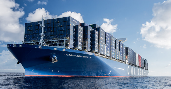 WORLDWIDE INNOVATION The CMA CGM BOUGAINVILLE Is The