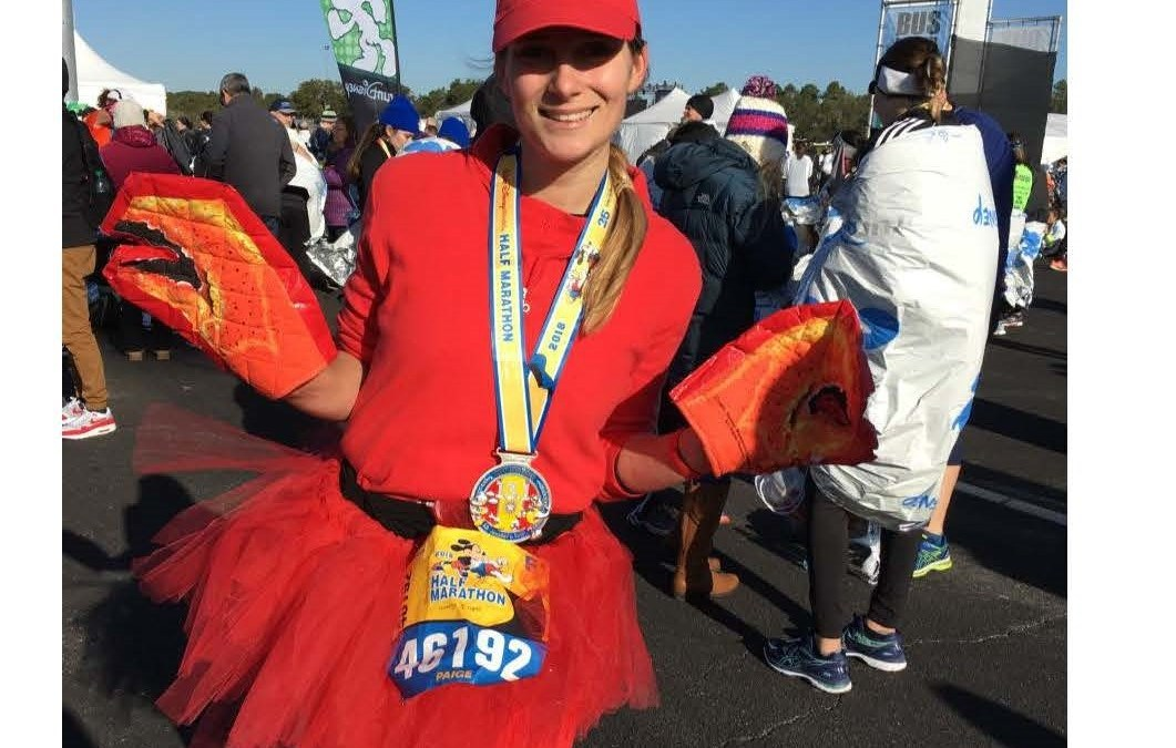 CMBG3's Paige Cleary Finishes Disney Half Marathon For Charity