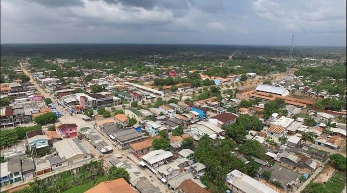 Imagem aérea de Curralinho