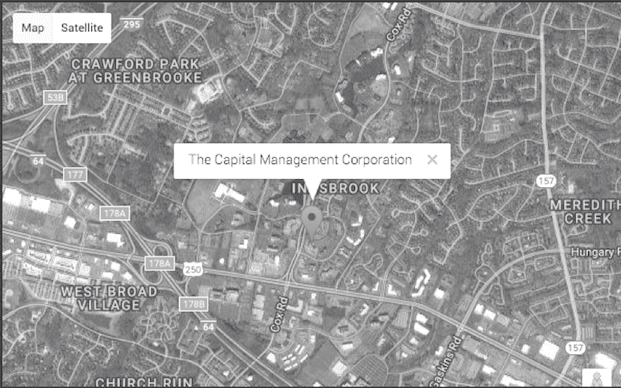Capital Management Corporation location