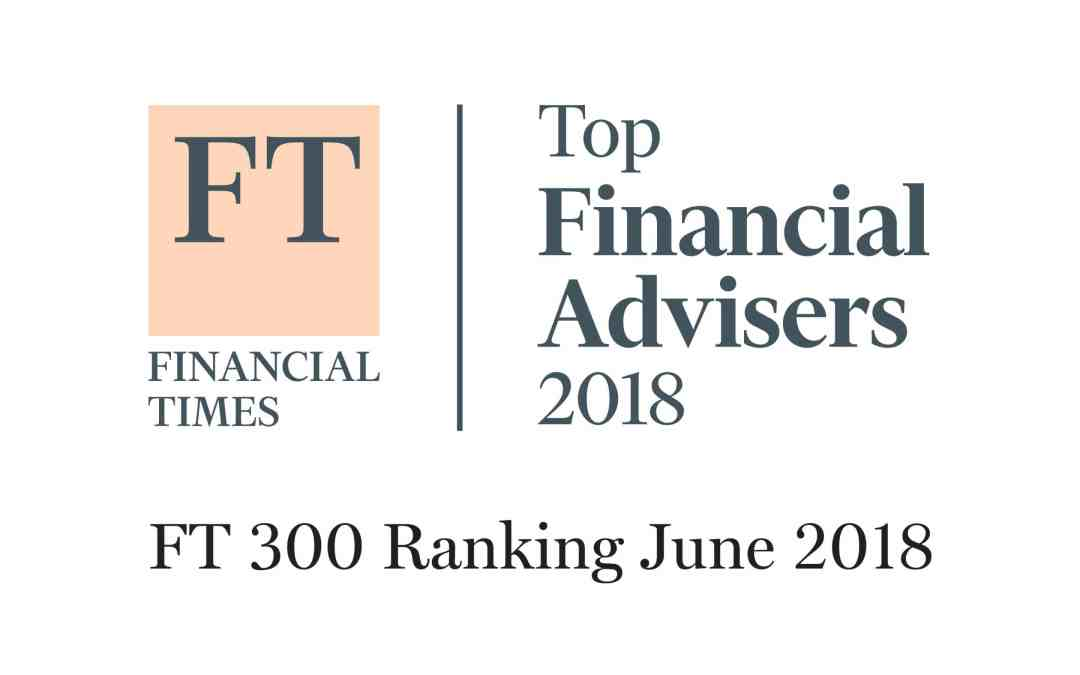 Financial Times Top Financial Advisers 2018
