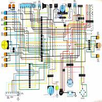 Diagrama honda cb cj cl360