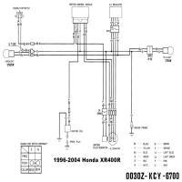Diagrama honda xr400r