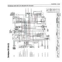 Diagrama kawasaki zrx1100