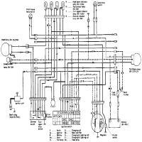 Diagrama suzuki ts tc125schemw