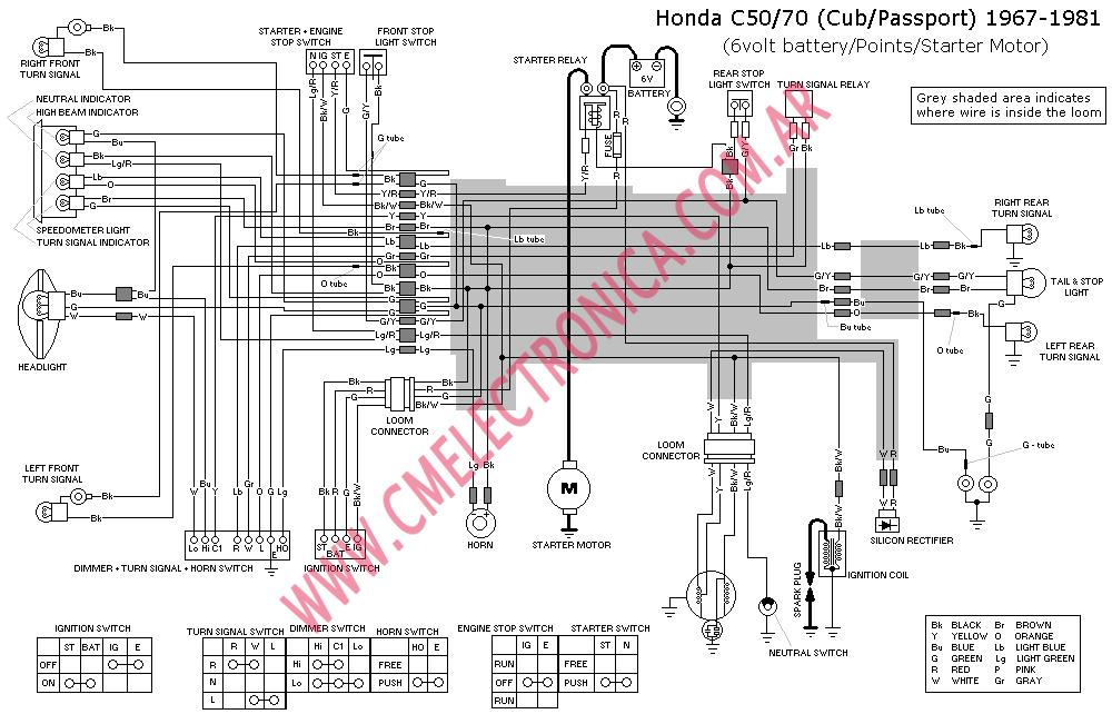 Honda C100 Engine Diagram Honda Dream Engine Wiring