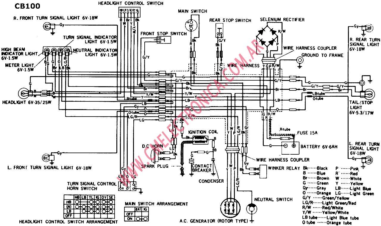 Cb100 Wiring Diagram - Find Wiring Diagram •