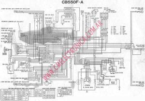 Diagrama honda cb550 f a
