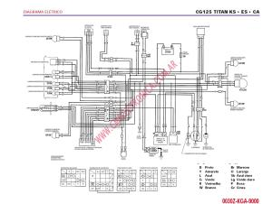 Diagrama honda cg125 titan ks es ka