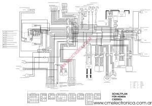 Diagrama honda cx650c
