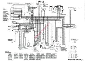 Diagrama honda nx650
