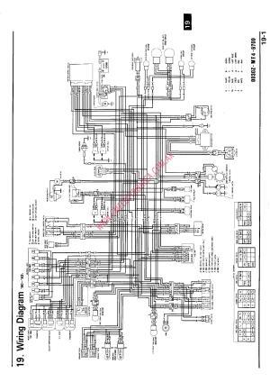 RX80 HONDA 1983 WIRING DIAGRAM  Auto Electrical Wiring Diagram