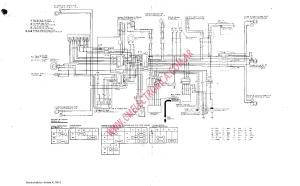 Diagrama honda xl500