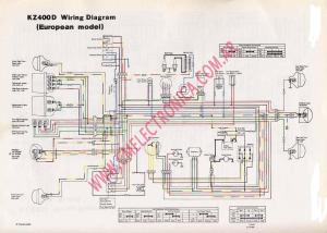 Kz400 Simple Wiring Diagram | Wiring Library