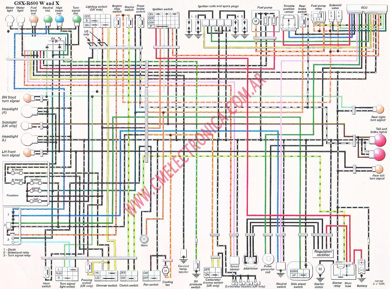 suzuki bandit 600 wiring diagram wiring library. Black Bedroom Furniture Sets. Home Design Ideas