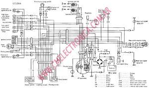 Diagrama suzuki gt250a