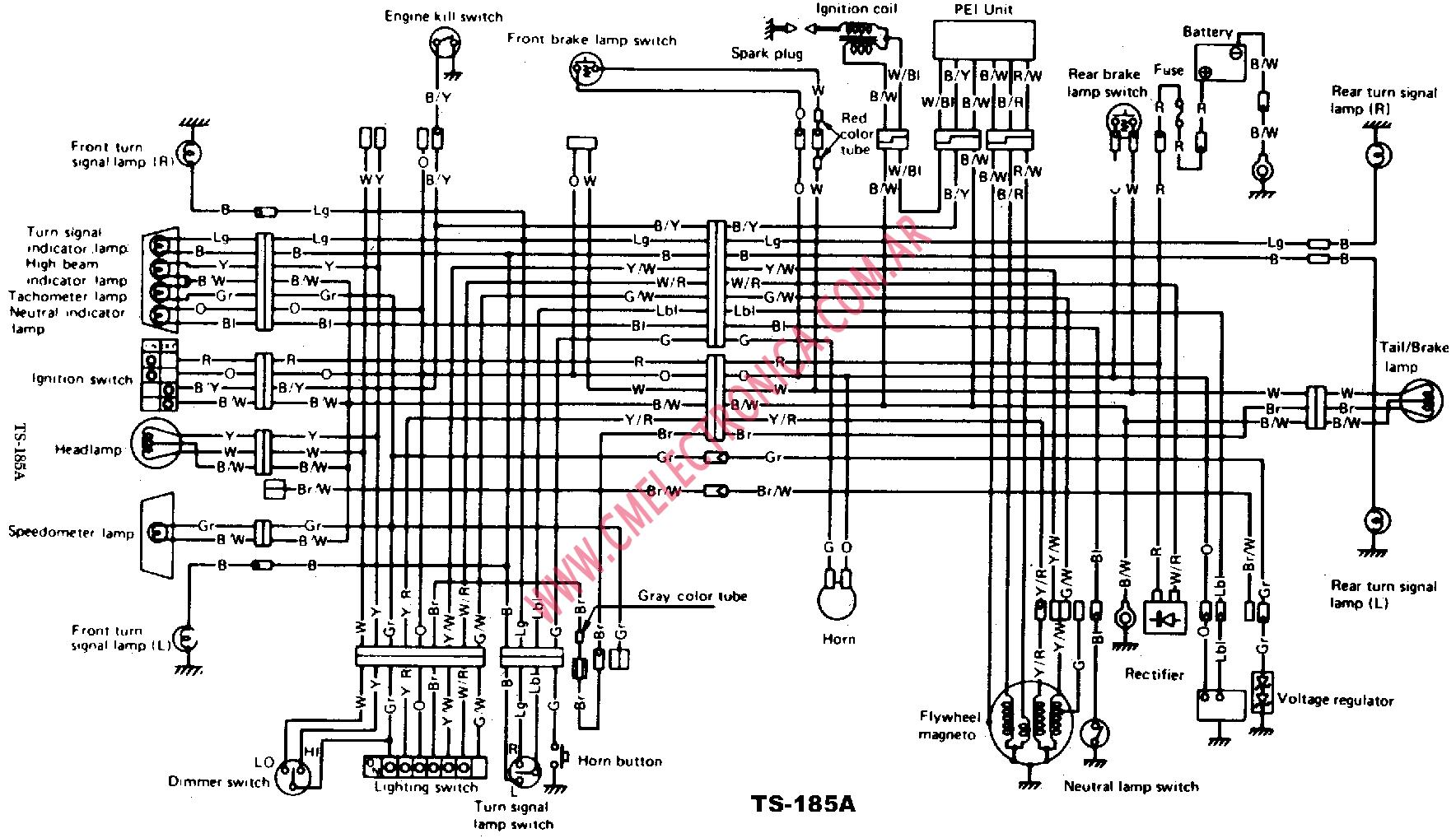 Wiring Diagram For Suzuki Intruder
