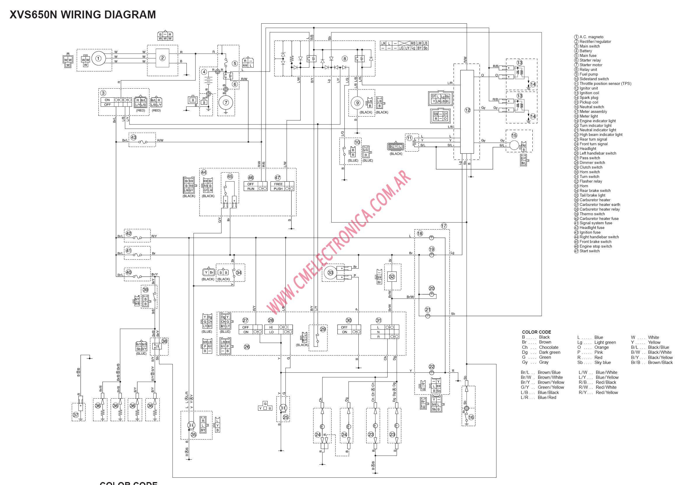 Wiring Diagram Yamaha V Star 1100 - Online Wiring Diagram on blue star drawings, blue bird wiring diagrams, blue star service,