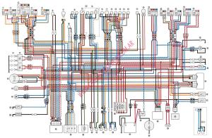 Diagrama yamaha fzx750
