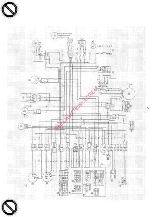 Diagrama yamaha sr500