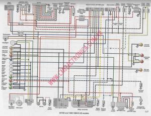 Diagrama yamaha xv700