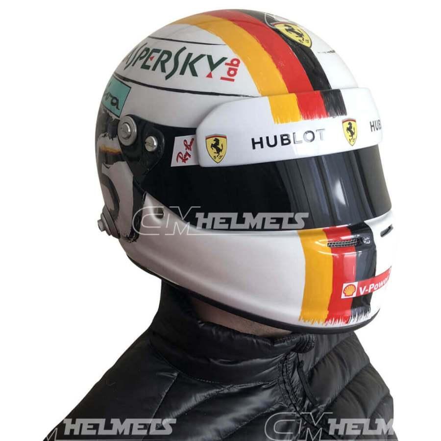 Sebastian-Vettel-2018-China-Shanghai-GP-F1- Replica-Helmet-Full-Size-be-head