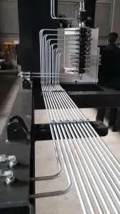 Tubo zincato impianto oleodinamico