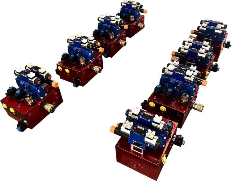 Blocchi oleodinamici macchine utensili