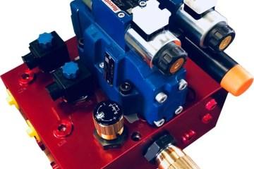 Blocchi oleodinamici stampaggio plastica