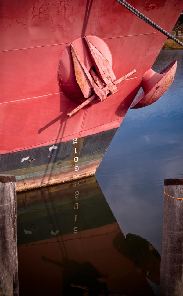 Bow of the Lightship Nantucket - Wareham, Massachusetts
